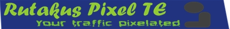 Rutakus Pixel TE 468 pixel by 60 pixel banner traffic exchange site